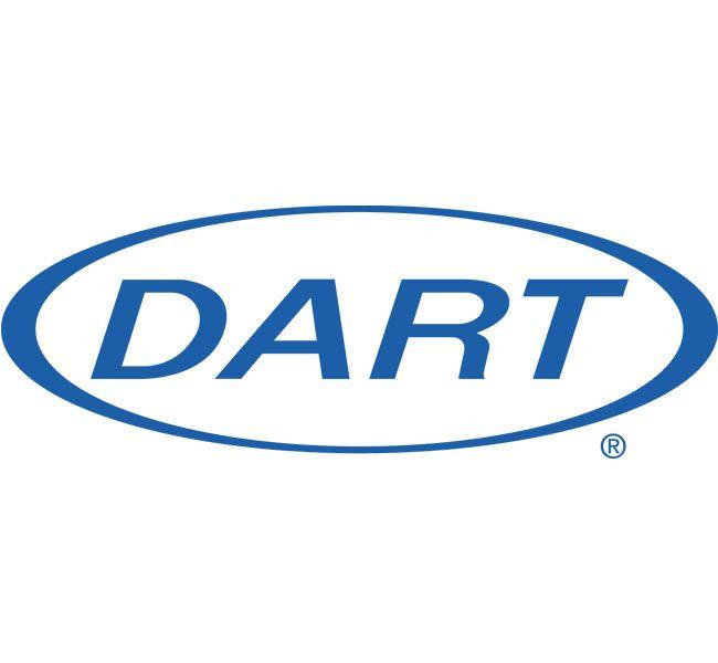 Dart Cups   8 oz. White Plastic Sip Thru Lid 8UL, 1,000 ct. Case Made in U.S.A.