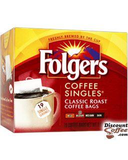 Folgers Classic Roast Singles