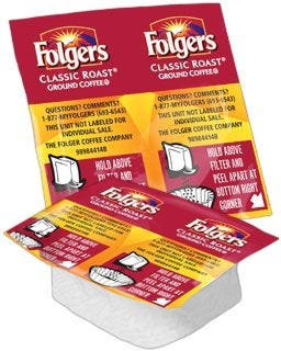 Folgers Classic Roast Ground Coffee Vackets