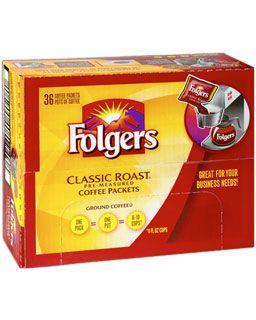Folgers Classic Roast Window Pack Case