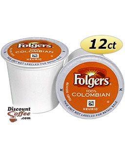 Folgers Gourmet 100% Colombian K-Cup® Coffee Pods | Medium - Dark Roast, 100% Arabica Colombian Coffee