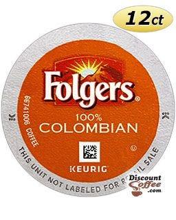 Folgers Coffee Keurig® Hot K-Cup® Pods | Medium - Dark Roast Folgers Gourmet 100% Colombian Coffee