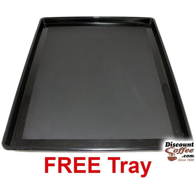 Free Black Plastic Condiment Tray with Hamilton Beach Pod Coffee Maker purchase.