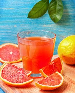 Fresh squeezed grapefruit juice flavor | Natural, crystallized, unsweetened True Grapefruit fruit mix.