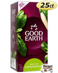 Good Earth Green Tea Blend with Lemon Grass & Natural Flavors