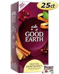 Good Earth Original Tea - Sweet & Spicy Tea & Herb Blend