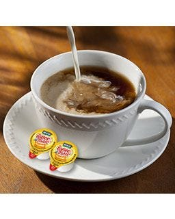 Nestle Hazelnut Coffee-mate Creamer Cup | Shelf Stable, Lactose Free Non-Dairy Creamers, Gluten Free