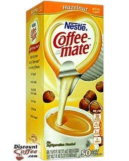 Hazelnut Coffee-mate Creamer Tubs, No Refrigeration Needed | Lactose Free Nestle Non-Dairy Creamer, Kosher