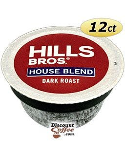 Hills House Blend K-cup® Coffee | Hills Brothers Dark Roast Single Serve Pods