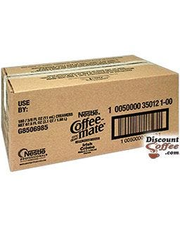 Coffee-mate Irish Creme 180 ct. case | Bulk Foodservice Wholesale Case, Restaurants, Office Coffee Service