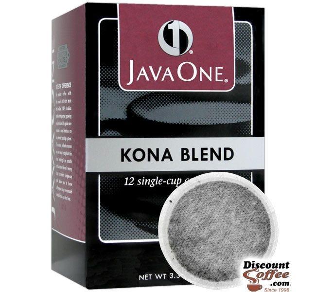 Java One Kona Blend Single Cup Coffee Pod   Single-Cup Hawaiian Light Roast Coffee Pods