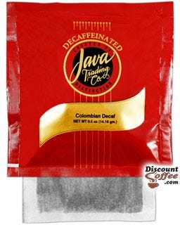 Java Trading Company 4 Cup Filter Pack Decaf Coffee