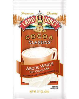 Arctic White Land O Lakes Hot Cocoa