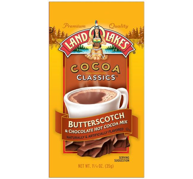 Butterscotch & Chocolate | Land O'Lakes Hot Cocoa Mix