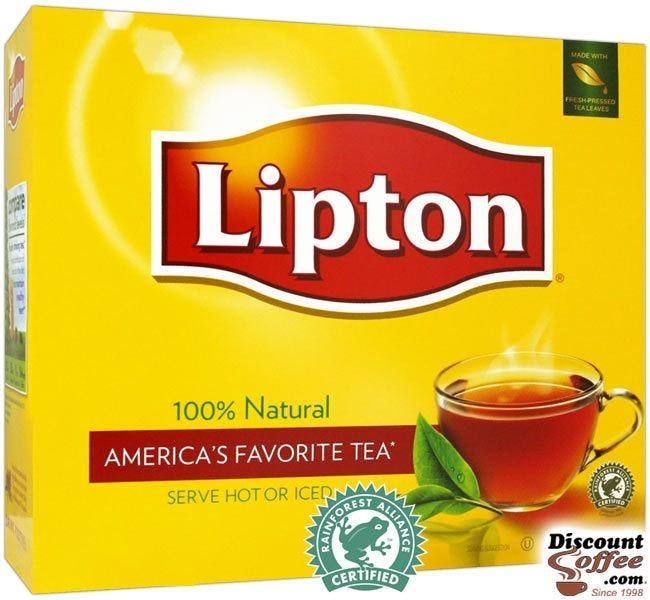 Lipton Tea Bags | Single Cup Hot Tea, Rainforest Alliance