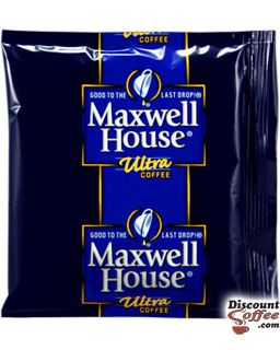 Maxwell House .8 oz. Ultra Roast Pouches - 42/ Case