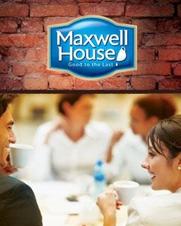 Maxwell House 4 Cup Coffee Filter Packs