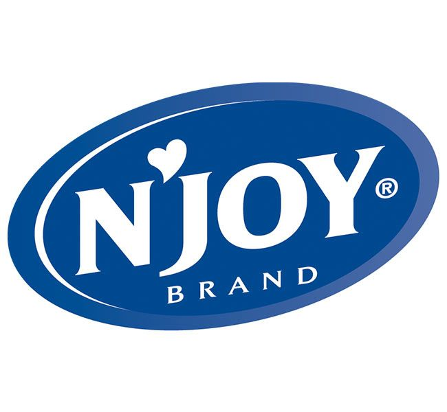 N'Joy Brand | Pure Sugar Canisters 22 oz. 100% Granulated Cane Sugar, Kosher. Easy Pour, Reclosable Spout, Foodservice 24 ct. Case.