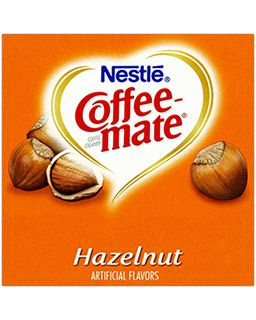 Nestle Coffee-mate Hazelnut Flavored Coffee Creamers | Lactose Free Non-Dairy, Gluten Free Tubs