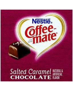 Nestle Coffee-mate Salted Caramel Chocolate Creamers | Candy Flavored Coffee Creamer Tubs, Non-Dairy, Kosher