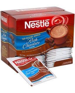 Nestle No Sugar Added Hot Cocoa - Fat Free & 99.9% Caffeine-free