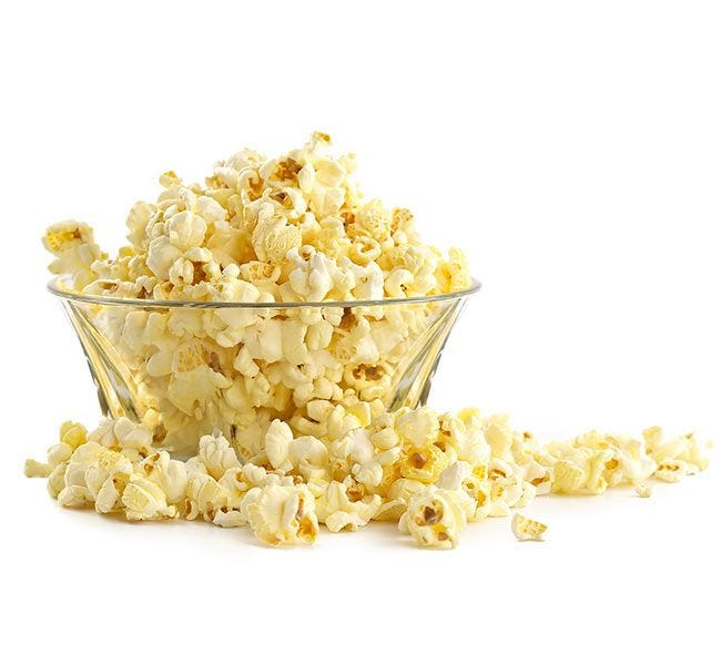 Pop Microwave Butter Popcorn Bowl | Gluten Free, Kosher, Natural Butter Flavored, 100% Whole Grain, No Trans Fat.