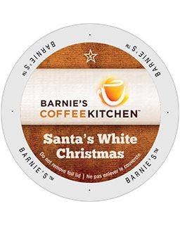 Santa's White Christmas K-Cup® Coffee | 24 Singles Serve Cups, 100% Arabica, Medium Roast