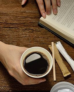 Seattle's Best Coffee Shop 12 oz. Cups, Foodservice, Restaurant, Catering, Vending, Office Coffee Service
