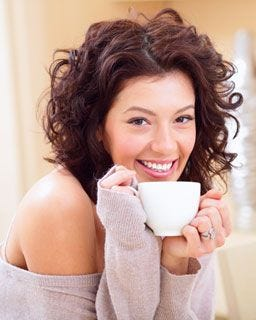 Smile! White Bear Decaf House Blend delivers antioxidant benefits of coffee without caffeine.