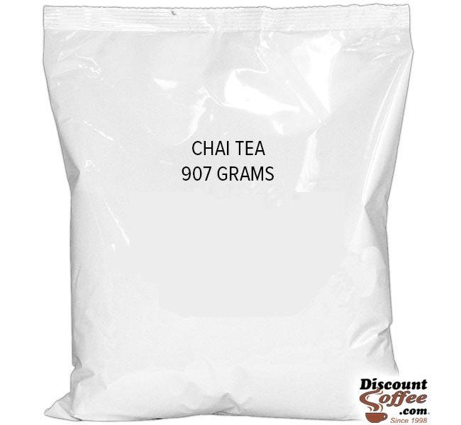 Spiced Chai Tea Bulk Vending Mix 2 lb. Bag | Black Tea, Honey, Spices, Refills Hot Beverage Hopper Machines Foodservice 6 Bag, 12 lb. Case.