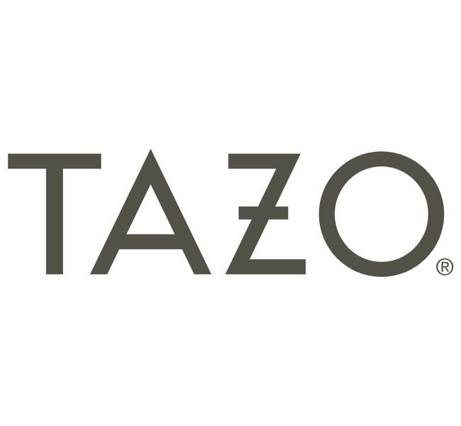 Tazo Tea Brand Display Rack | Foodservice, Restaurants, Retail Stores, Office Coffee Breakroom Kitchens.