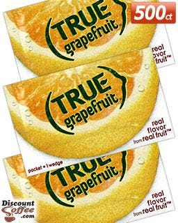 Bulk 500 count True Grapefruit food service packets | Restaurants, Chefs, Kitchens, Cooking, Baking, Recipes.
