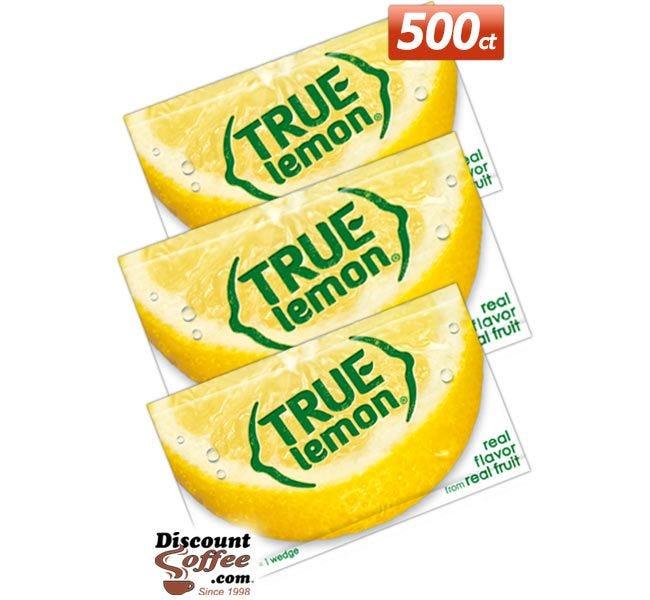 True Lemon 500 Packet Foodservice Case | 100% Natural Crystallized Lemon, True Lemon 500 ct. Bulk Case