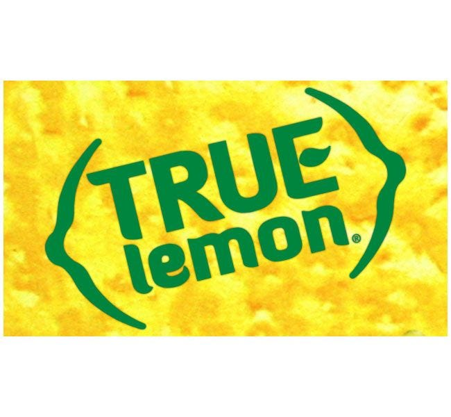 True Lemon Brand 2.12 oz. Shaker | Gluten Free, Natural Fruit Flavored Seasoning, Cooking, Baking, No Sugar, 0 Calories.