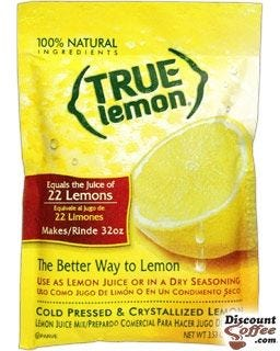 True Lemon Juice Mix, Dry Seasoning Mix Rub, 100% Natural