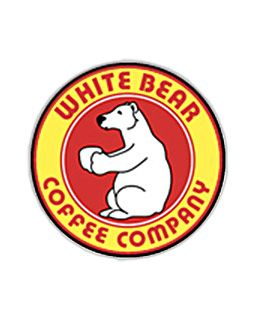 White Bear Brand Costa Rican Coffee, Medium Roast Single Cup Coffee Filter Pods
