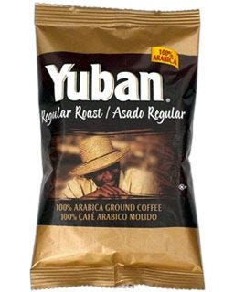 Hot, freshly brewed Yuban Bold Coffee delivers balanced full-bodied flavor. 100% ground Arabica!