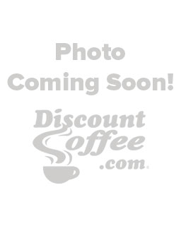 eattle's Best 8 oz. Coffee Cup, Branded Disposable Paper Hot Cups, Red, White Logo