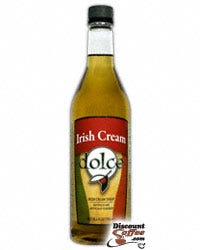 Dolce Gourmet Flavored Irish Cream Syrup