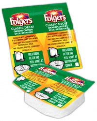 Decaf Folgers Classic Roast Ground Coffee Vackets