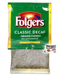 Classic Decaf Folgers 4 Cup In-Room Coffee Filter Pack