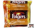 100% Colombian Folgers Ground Coffee 42/Case