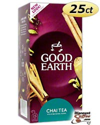 Good Earth Chai Tea - Natural Source of Antioxidants