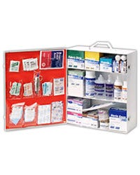 Green Guard 25+ Person First Aid Cabinet