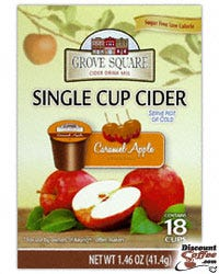 Sugar Free Caramel Apple Cider Grove Square Single Cup
