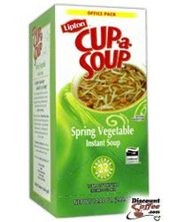 Spring Vegetable Lipton Cup A Soup - Instant Soup Mix