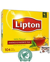 Single Serve Lipton Tea Bags