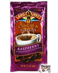 Raspberry & Chocolate Land O'Lakes Hot Cocoa Mix