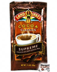 Supreme Chocolate Land O'Lakes Hot Cocoa Mix