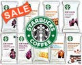 Assorted Starbucks® Ground Coffee 18/Box